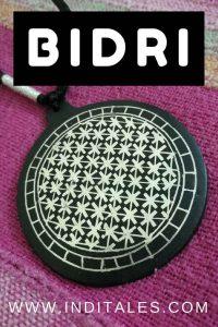 Bidri Ware - Pendant