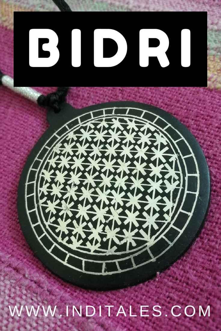 Bidri Ware Jewelry