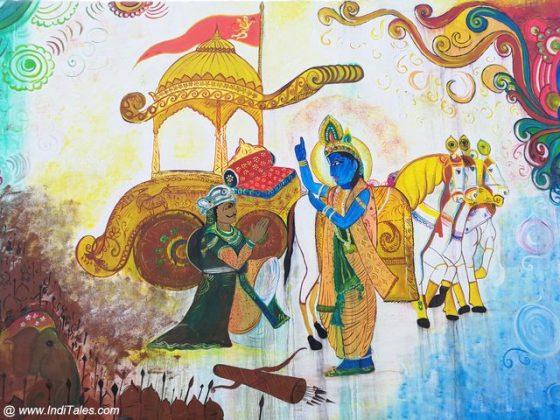 Arjun Vishaad - Street Art Kurukshetra
