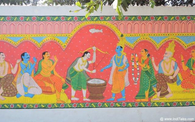 Draupadi Swayamvar - Street Art Kurukshetra
