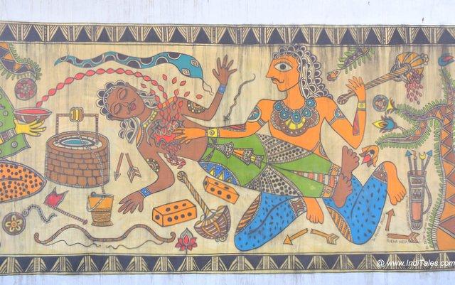 Madhubani - street art Kurukshetra