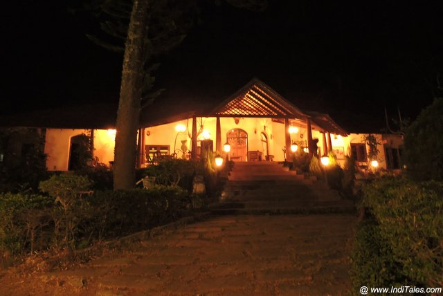 The Old Kent Estate - Coorg at Night