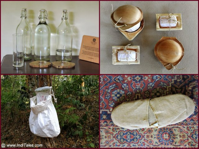 Eco-friendly products at the Old Kent Estate in Coorg