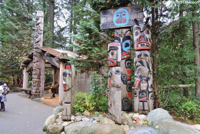 Totem Poles - Capilano Suspension Bridge Park - Vancouver BC