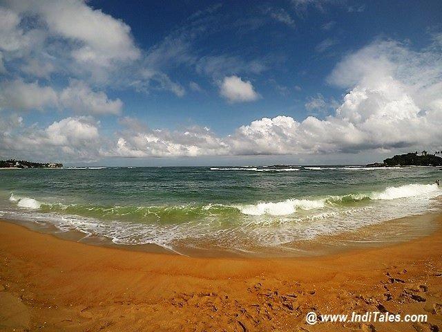 Unawatuna Beach near Galle, Sri Lanka