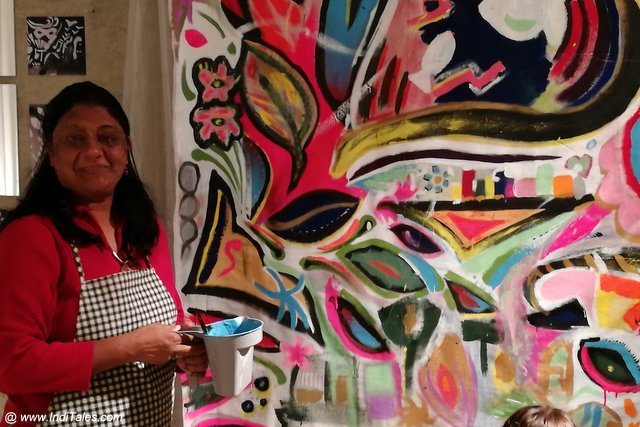 Anuradha Goyal at Eastside Culture Crawl
