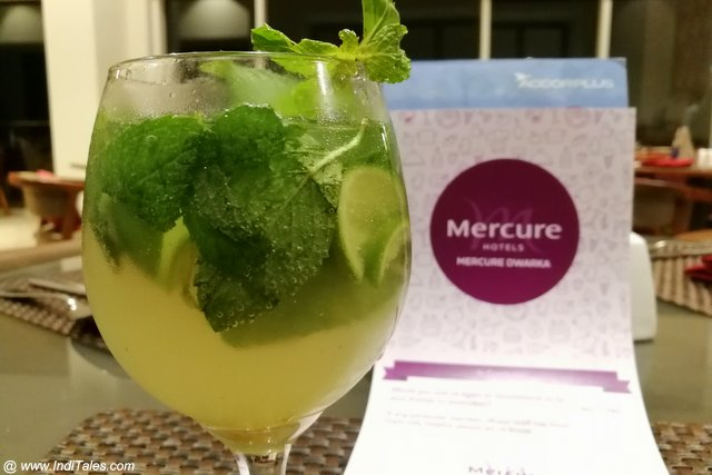 Jaggery Mojito - Innovation by Mercure Dwarka