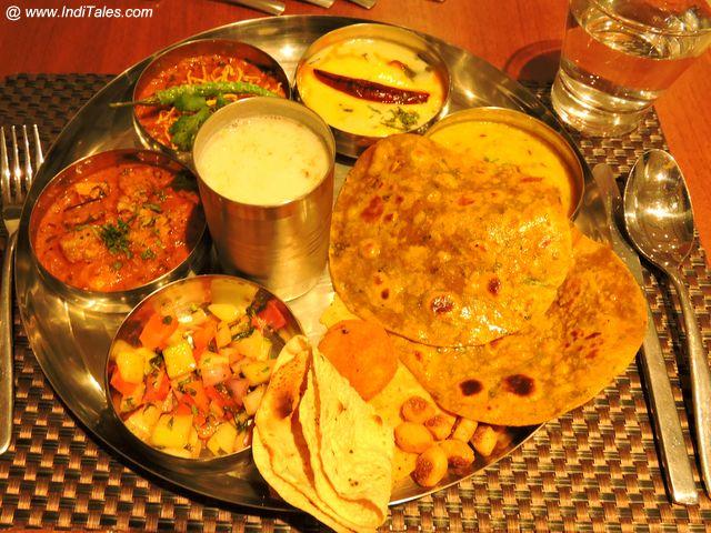 Vegetarian Gujarati Thali @ Mercure Dwarka