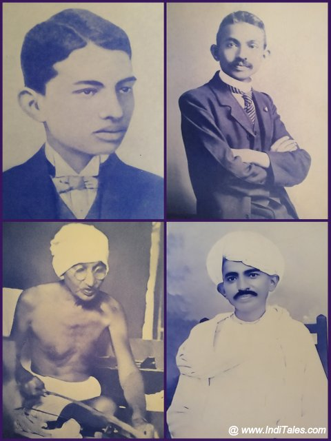 Portraits of Gandhi
