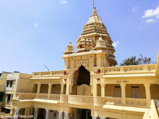 Kirti Mandir - a memorial for Mahatma Gandhi at his birthplace in Porbandar