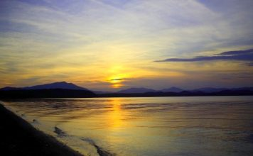 One of the 16000 Lakes on Sakhalin Island - Far East Russia
