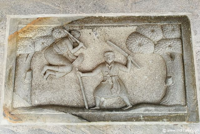 A Kodava scene depicted