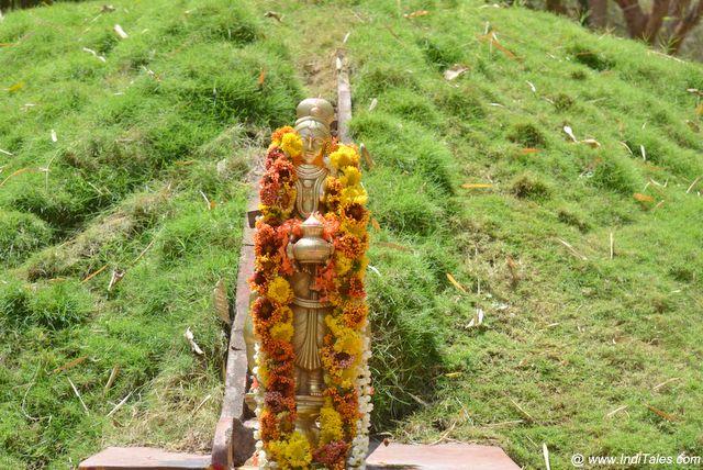 Kaveri Idol at Nisargadham at Madikeri