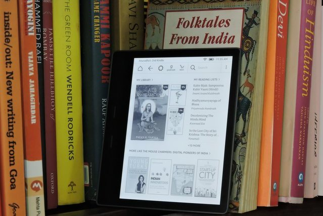 One Kindle Oasis = My Whole Home Library