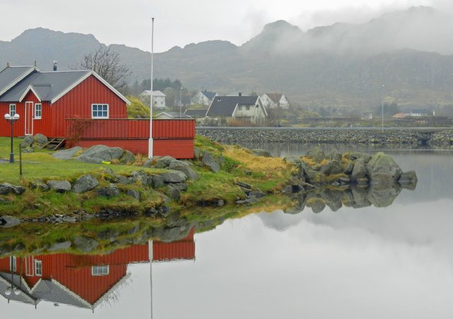Stunning reflections - Lofoten Islands