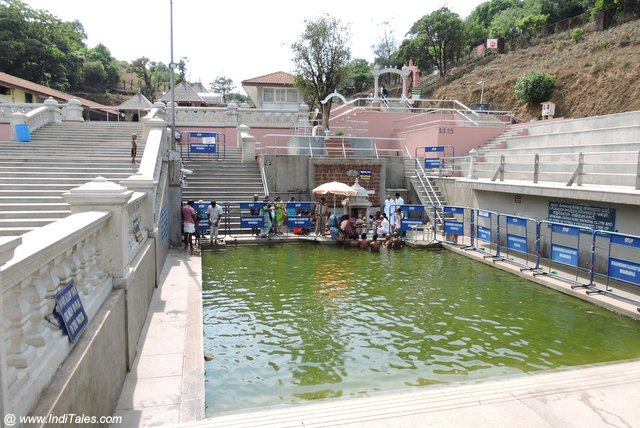 Talakaveri Temple tank the origin or source of Kaveri river