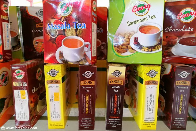 Variety of Flavored Tea Powder