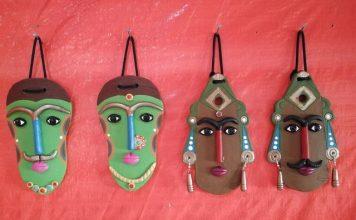 Bamboo Masks as Coorg Souvenirs