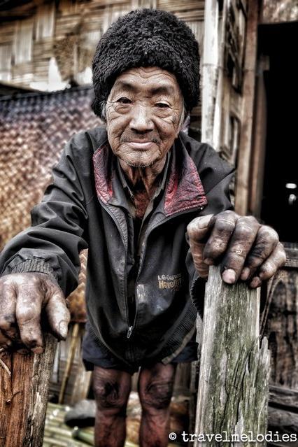 Apatani tribe old man