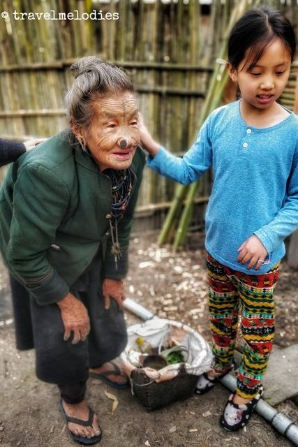 Apatani Women – old & young