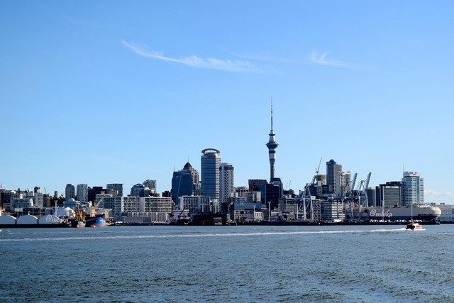 Auckland's Skyline from Davenport