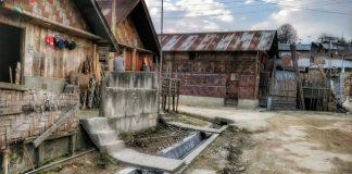 Bamboo Houses Haji Basti Ziro Valley Arunachal Pradesh