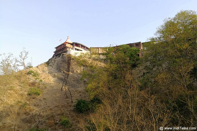 Chandi Devi Temple on top of Neel Parvat - Haridwar