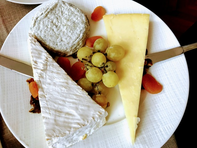 Cheese Platter in Paris