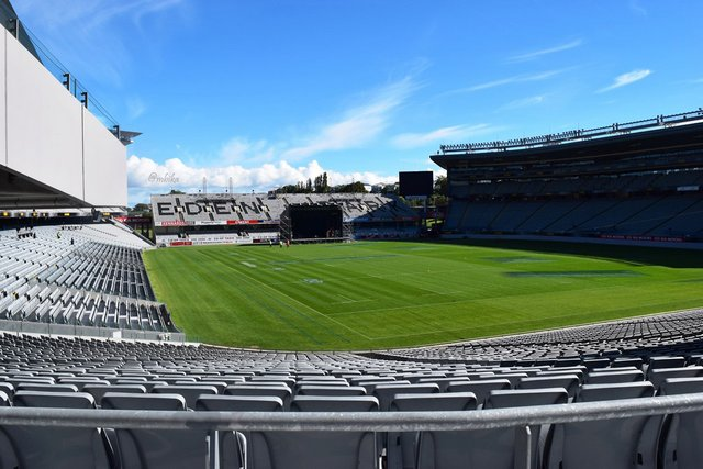 Eden Park Cricket Stadium that doubles up as Rugby Stadium during the non-cricketing time