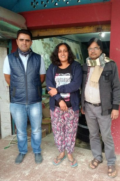 A family Shilpa Balakrishnan stayed with at Khliehriat in Meghalaya