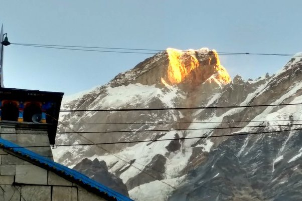 Golden Sunrise at Kedarnath