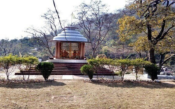 Kanvashram - built in 1950s on banks of Malini River