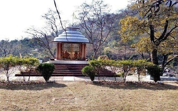 Kanvashram - built in 1950s on banks of Malini River