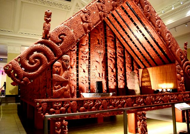 Maori Architecture at New Zealand North Island