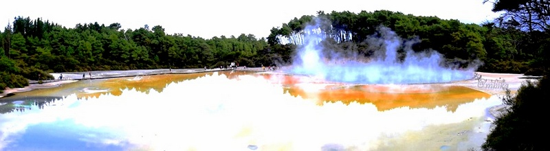 The Champagne pool- Wai-O-Tapu