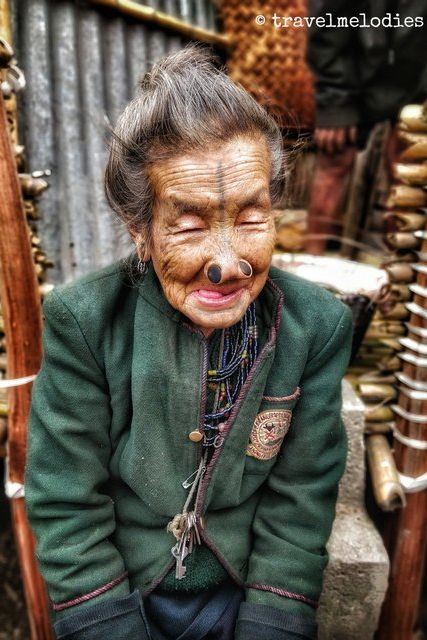 Apatani grandmother