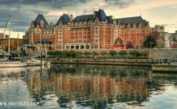 Iconic Empress Hotel Victoria BC