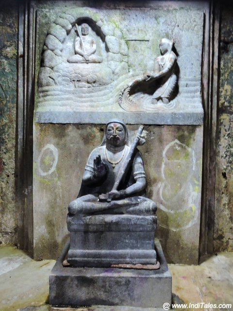 Adi Shankaracharya Murti at Omkareshwar