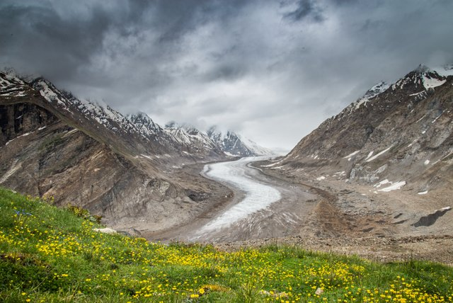 Drang-Drung Glacier, Zanskar
