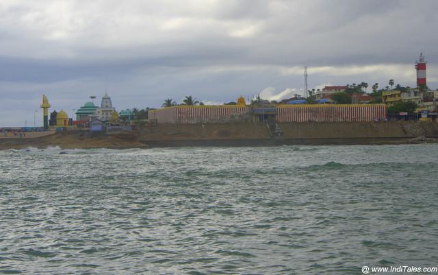Kanyakumari Devi Temple landscape view