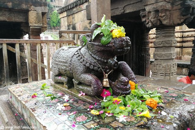 Nandi Mandap at Mamleshwar Temple