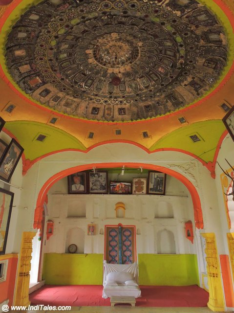 Durbar Hall of Mandhata Mahal at Omkareshwar