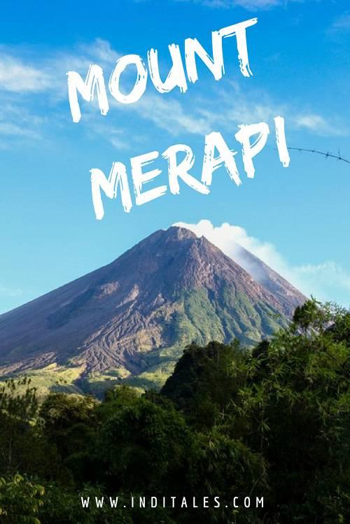 Mount Merapi, Java Island, Indonesia