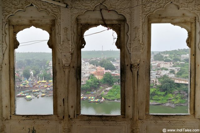 Narmada & Omkareshwar from Mandhata Palace