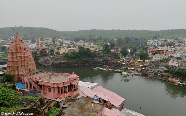 Omkareshwar Temple along the Narmada River