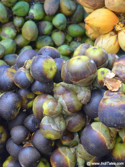 Palm fruit & Tender Coconuts