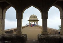 Rani Roopmati Pavilion at Mandu