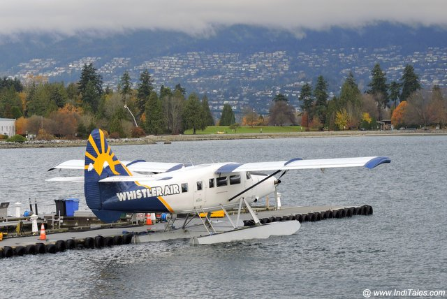 Seaplanes fly regularly between Vancouver and Victoria in BC