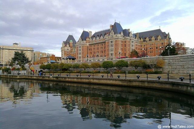 Iconic Empress Hotel - Victoria BC