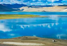Colors of Tso Morriri Lake in Ladakh